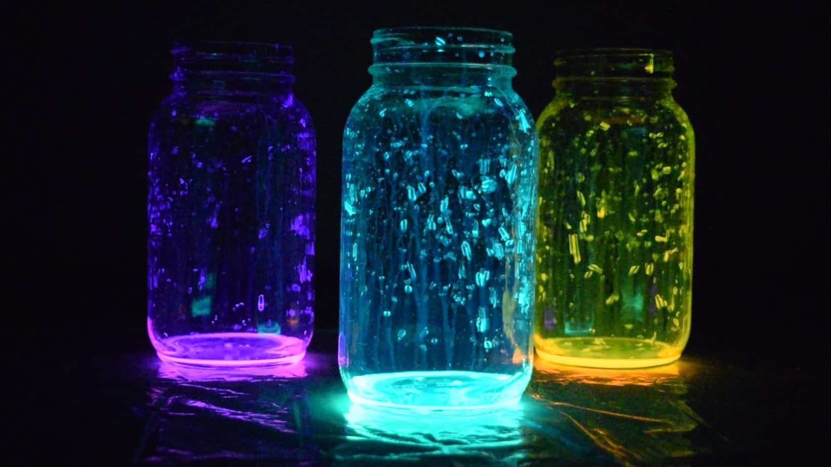 Fairy Glow Jars are easy and fun to make - not to mention pretty.